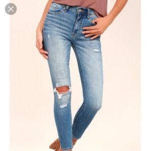 Lulus Distressed Jeans